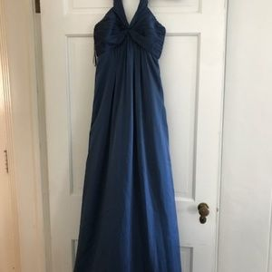 BCBG Blue gown
